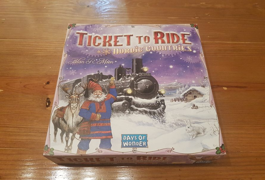 Ticket to Ride Nordic Countries Review – Snowy Awesomeness