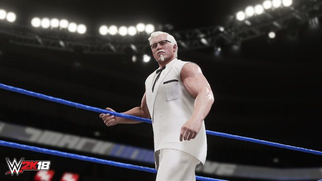 Colonel Sanders From KFC To Be A Playable Character In WWE 2K18