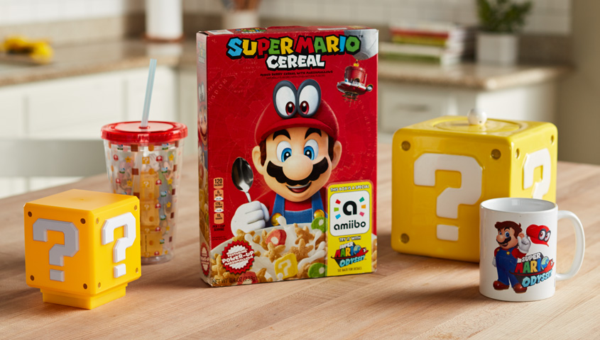 Nintendo Partners With Kellogg to Create Super Mario Cereal