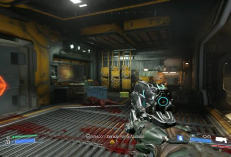 How to play DOOM for Switch with smoother graphics in handheld mode