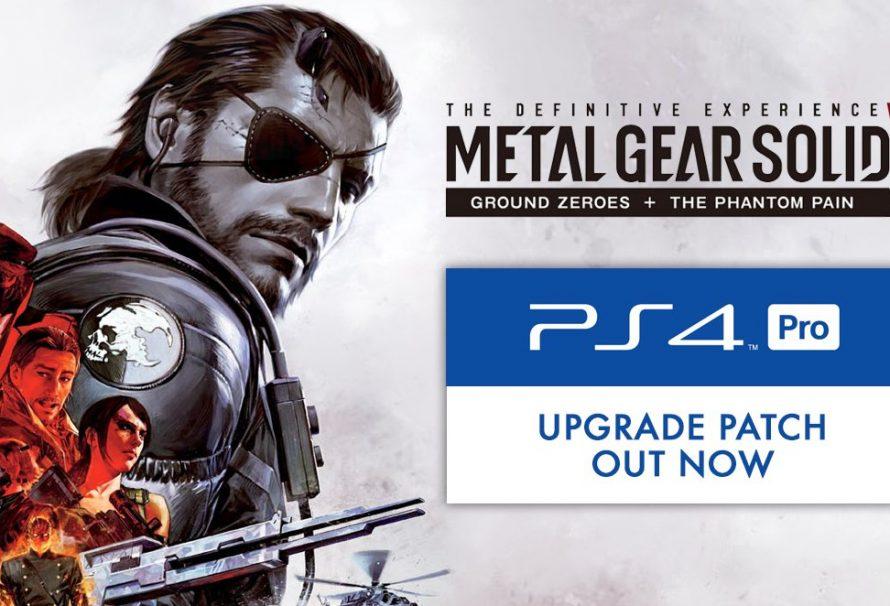 Metal Gear Solid V: The Phantom Pain finally goes 4K