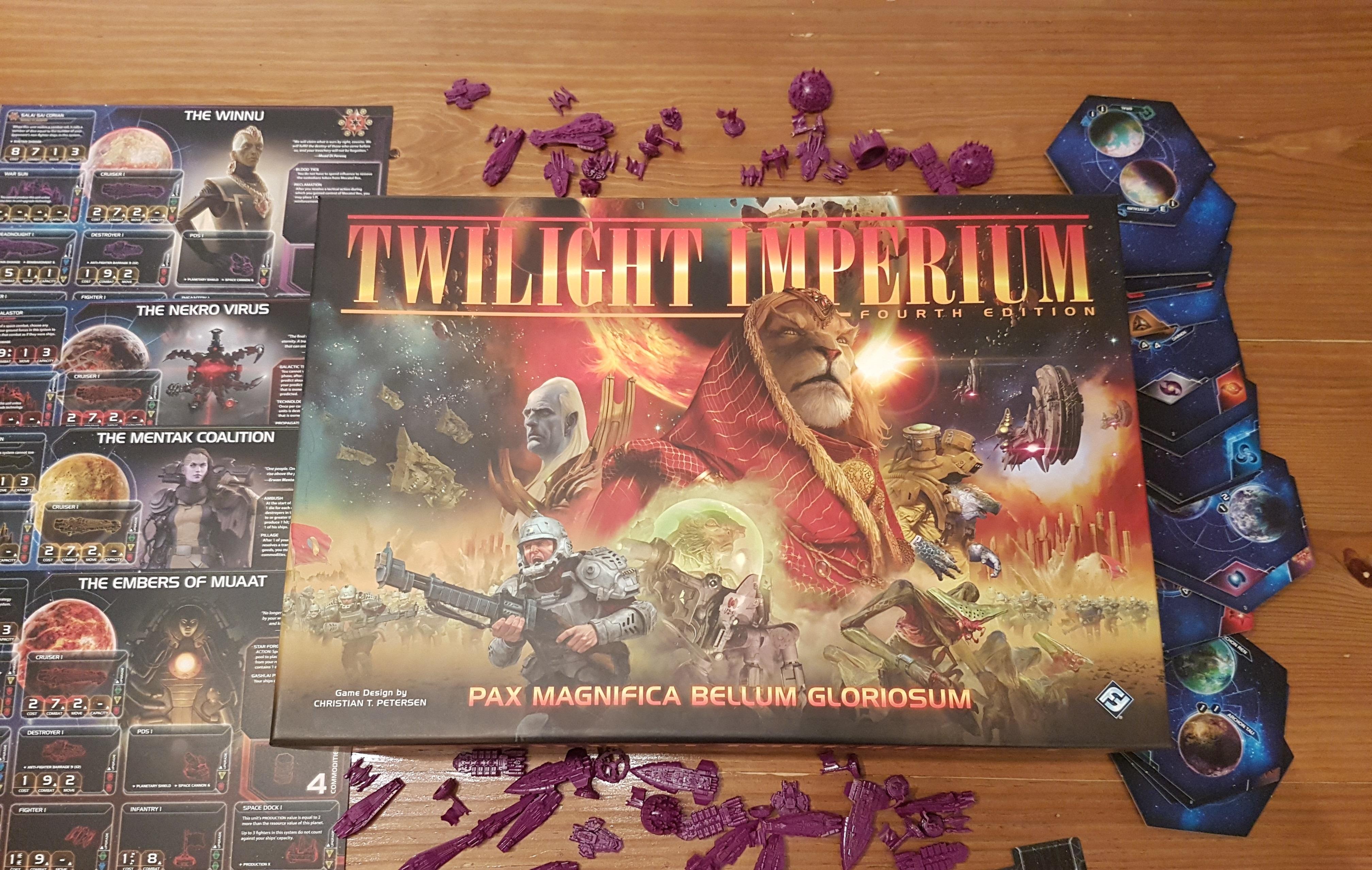 Twilight Imperium Races Review Of Literature