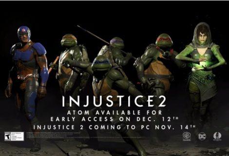 Teenage Mutant Ninja Turtles Are Injustice 2 DLC