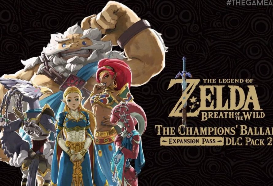 The Legend of Zelda: Breath of the Wild – The Champion's Ballad DLC Pack 2 Is Available Tonight
