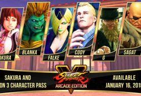 Street Fighter V DLC To Include Sakura, Sagat, Blanka And More