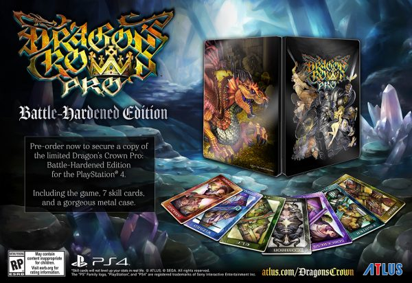 Dragon's Crown Pro ofers Battle-Hardened Edition