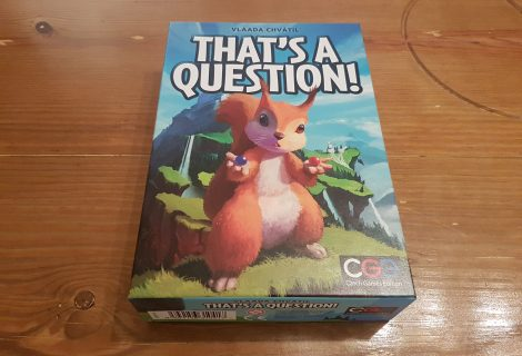 That's A Question! Review - Social Squirrels