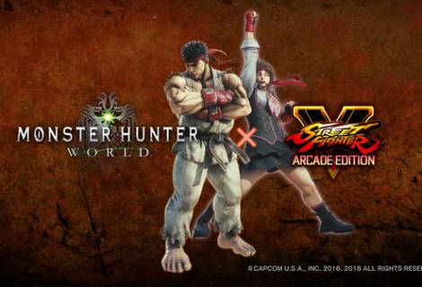 Street Fighter's Ryu And Sakura Will Be Joining Monster Hunter: World