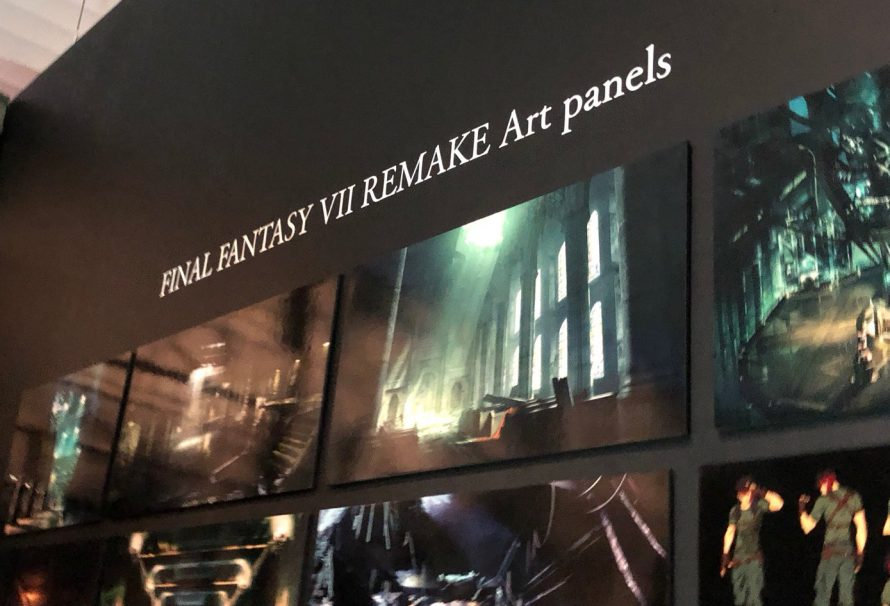 New Final Fantasy 7 Remake Artwork Shown