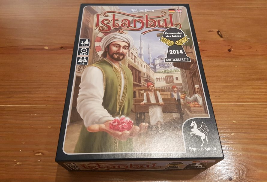 Istanbul Review – A Gem Of A Market Game