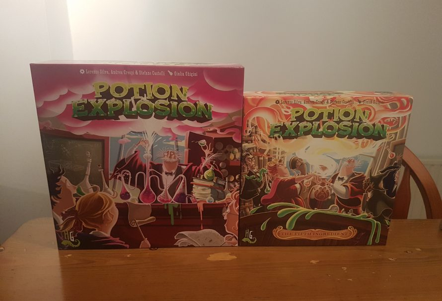 Potion Explosion & The Fifth Ingredient Expansion Review