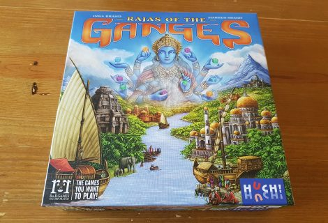 Rajas of the Ganges Review - A Noble Worker Placement Game