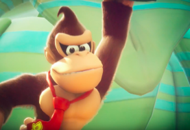 Donkey Kong Swings Into Battle in Mario + Rabbids Kingdom Battle this Spring
