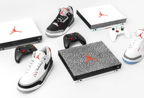 Xbox To Give Away Air Jordan Branded Xbox One X Consoles And Shoes