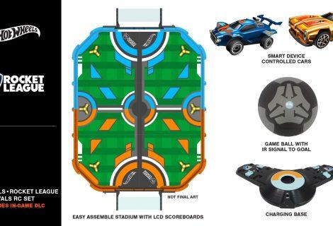 Hot Wheels Reveals A Real Life Rocket League Toy Set