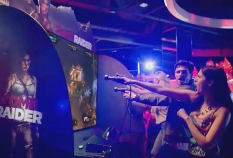 Dave & Buster's Announces New Tomb Raider Arcade Video Game