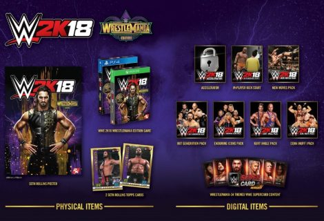 WWE 2K18 WrestleMania Edition Announced For Europe, Australia And Middle East