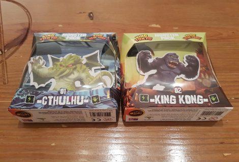 King of Tokyo/New York Monster Packs: 01 Cthulhu & 02 King Kong Mini-Review