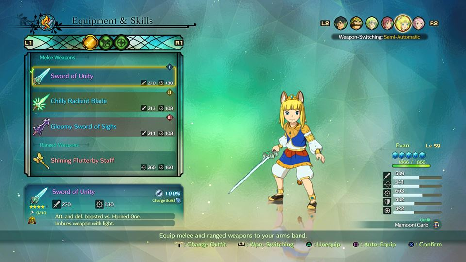 Ni No Kuni 2 Guide List Of All CostumesOutfits And How