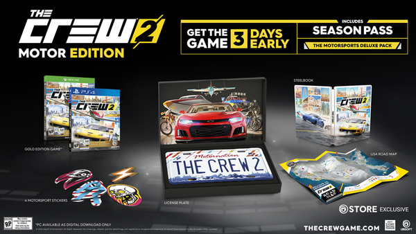 The Crew 2 Gets a June Release Date, Collector's Edition, And Beta