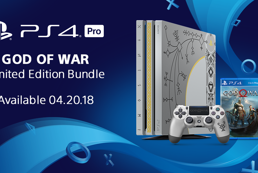 Sony Reveals Limited Edition PS4 Pro God of War Bundle, Game Has No Microtransactions