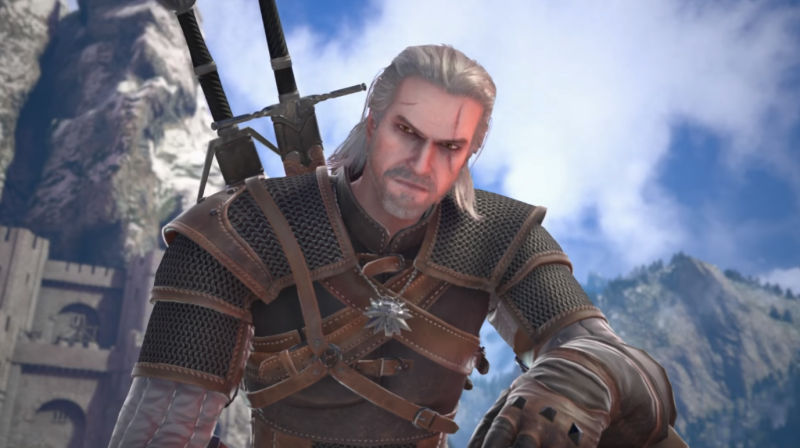 The Witcher's Geralt of Rivia Joins the Fight in Soulcaliber VI