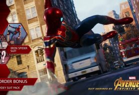 The Iron Spider Suit From Avengers: Infinity War Is In Marvel's Spider-Man PS4