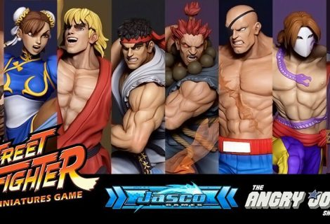Street Fighter The Miniatures Game Now Live On Kickstarter
