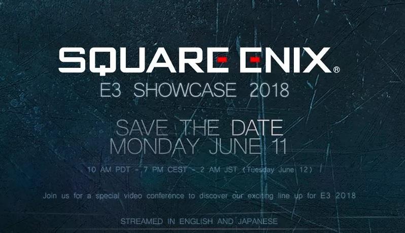 Square Enix reveals E3 2018 conference date