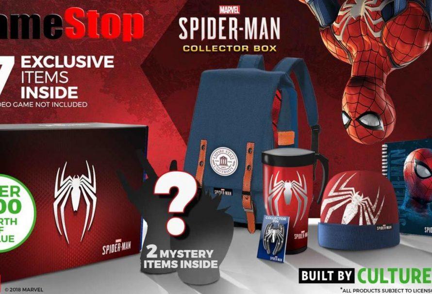 Gamestop Exclusive Spider-Man PS4 Collector's Box Announced