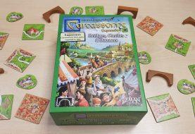 Carcassonne: Expansion 8 – Bridges, Castles and Bazaars Review