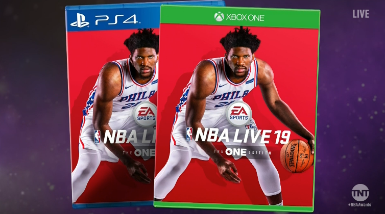 Joel Embiid Is The NBA Live 19 Cover Athlete