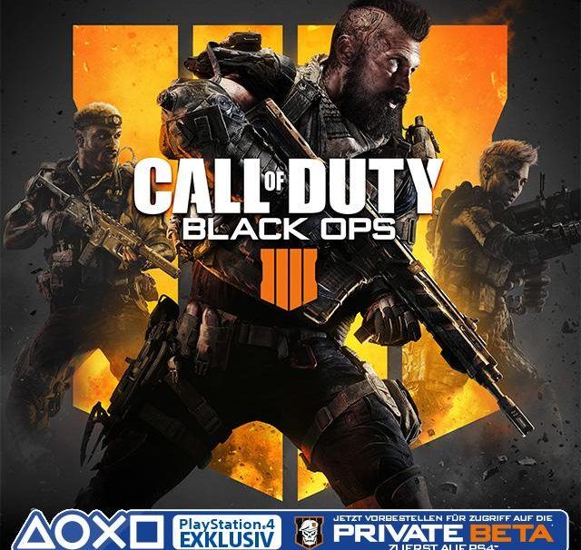 A Private Beta For Call of Duty: Black Ops 4 Will Arrive First On PS4