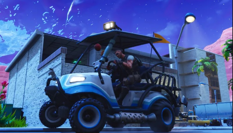 Fortnite Season 5 Gives Us Driveable Golf Carts, Desert Area And More