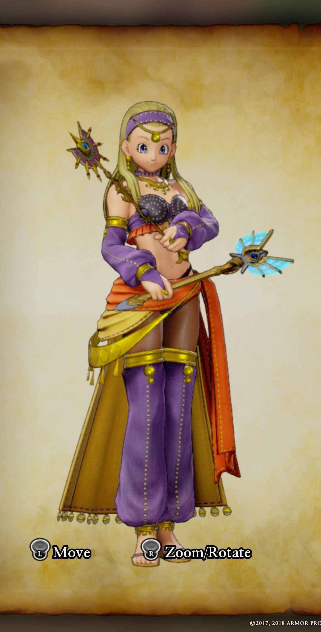 Dragon Quest Xi Costumes Dancer Set Guide Outfits Dedicated