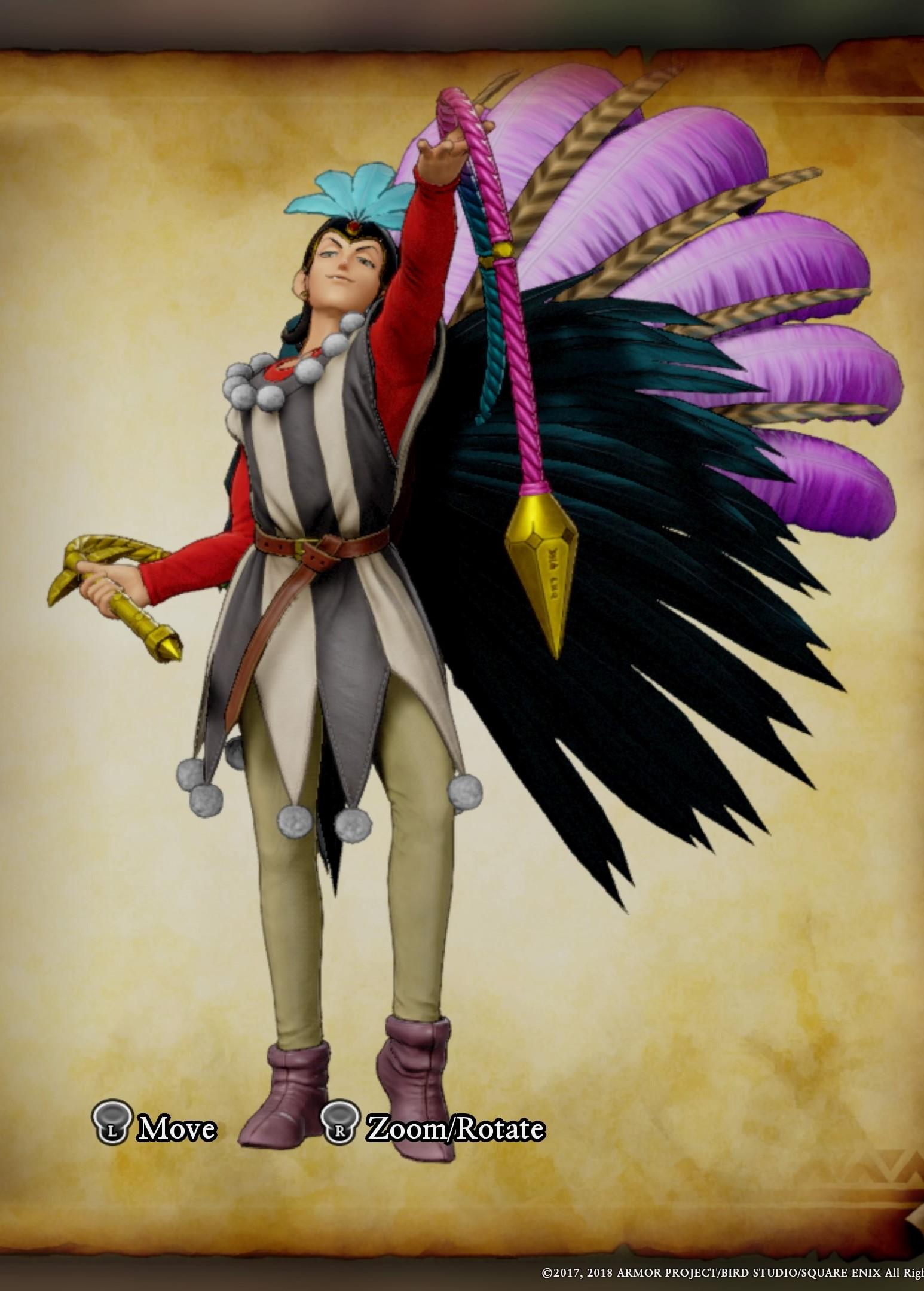 Dragon Quest Xi Costumes Mardi Garb Sylvando Guide Outfits Dedicated
