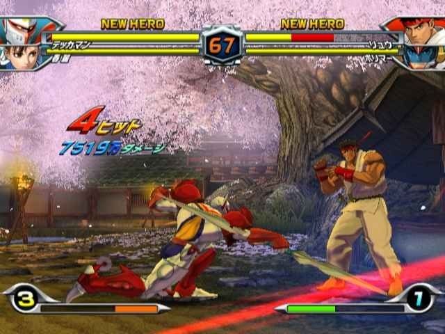 tatsunoko vs capcom cross generation of heroes handson