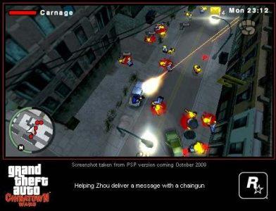 Grand Theft Auto: Chinatown Wars on PSP (2009)