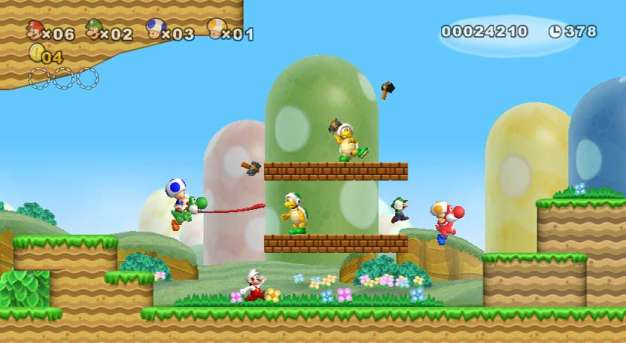 New Super Mario Bros Wii Review Just Push Start