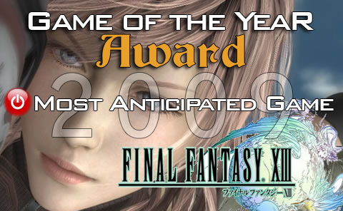 Most Anticipated Game of 2010: Final Fantasy XIII