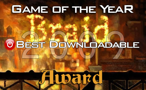 Best Downloadable Game of 2009: Braid