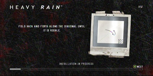 Heavy rain dog origami diagram | 258x515