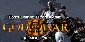 God of War III Launch Pad
