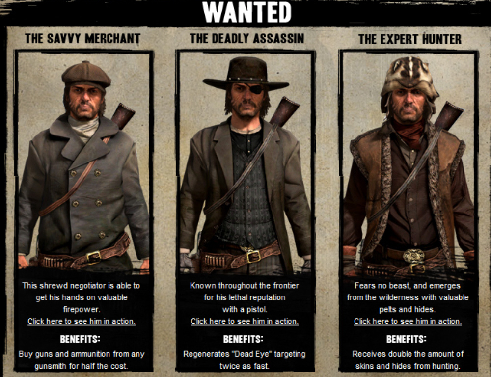 Red Dead Redemption Outfits Guide Just Push Start