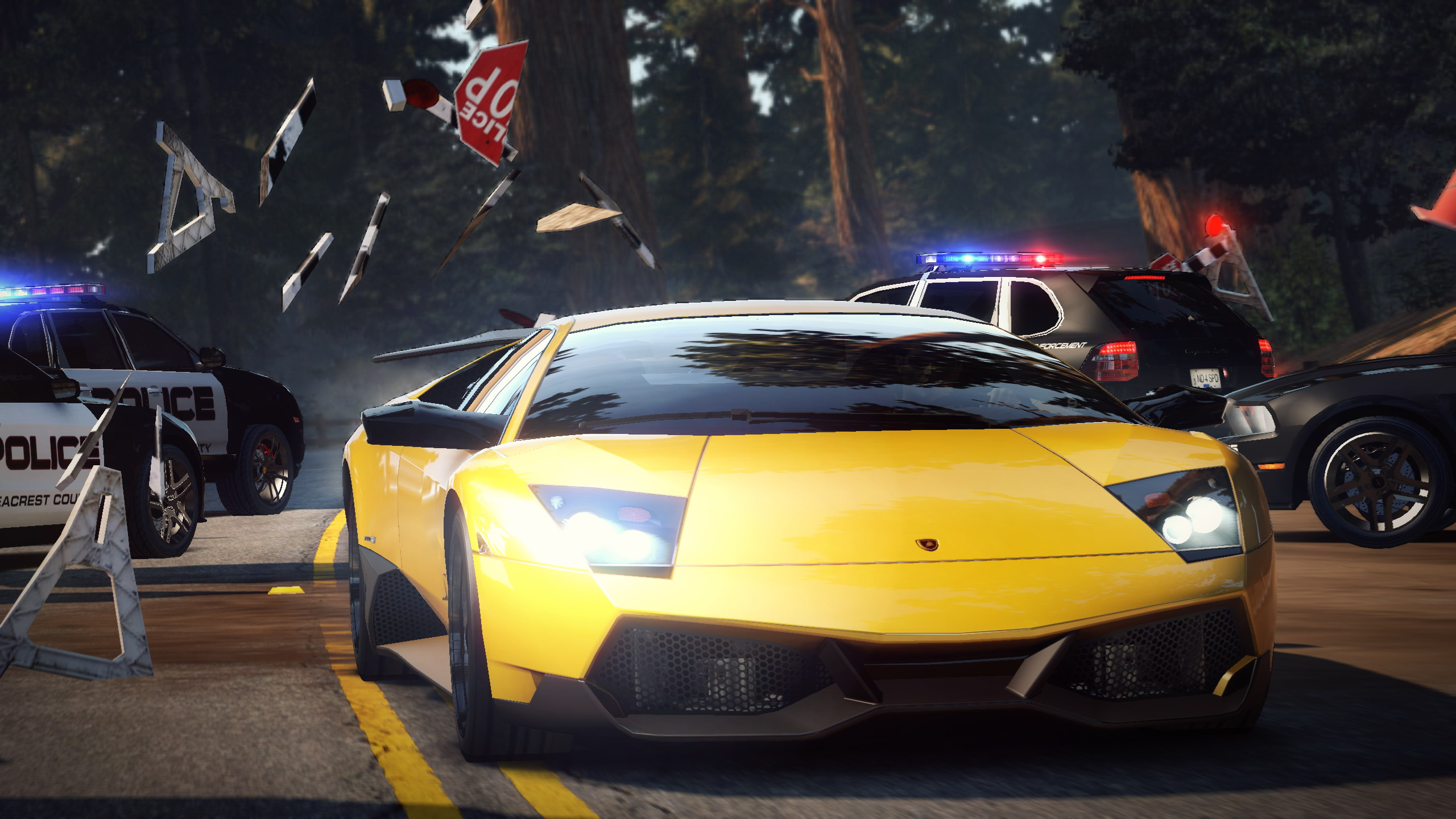 E3 2010 Need For Speed Hot Pursuit Screensots Just Push Start