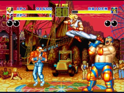 Fatal Fury (NEO GEO Collection) Review