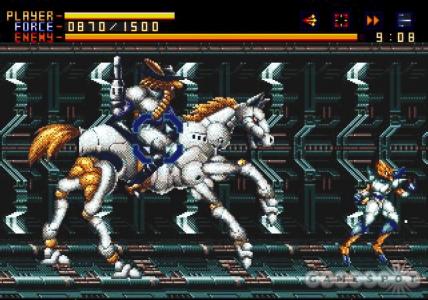 Alien Soldier gameplay