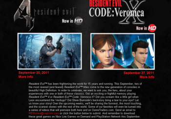 Capcom Wants To Know About Favorite Resident Evil Moments