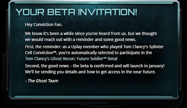 Ghost Recon: Future Soldier Beta Update