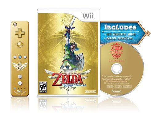 Skyward Sword Gets a Gold Wii Remote Bundle